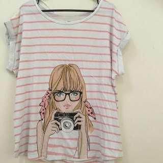 Girly Shirt Size M