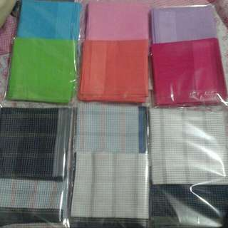 Angel's first collection-handkerchief. Very affordable hankies for men and women.