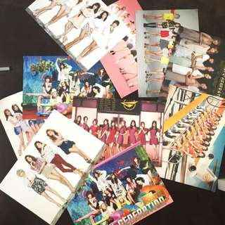 Snsd Girls Generation Poster Set
