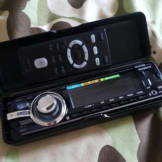 Sony Car Mp3 IPOD Player. Brand New With Remote.