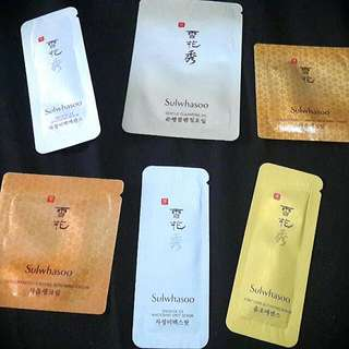 Sulwhasoo Samples (6in1)