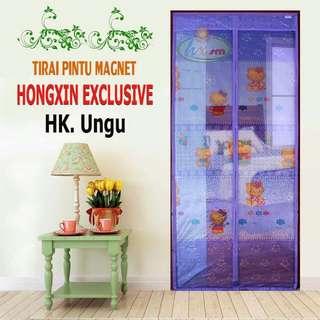 Hongxin Exclusive Tirai Pintu Magnet Hk Ungu