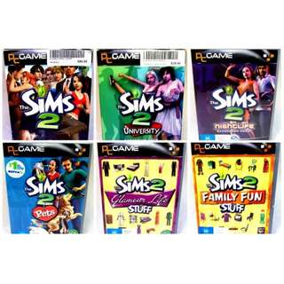 The Sims 2 & Expansion Packs