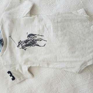 Ralph Lauren Baby Bodysuit Size 6-12 Mths