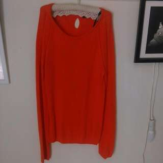 Tokito (Myer) Orange Knitted Sweater