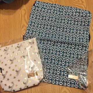 正版BKK 帆布包 束口袋後背包 側背包