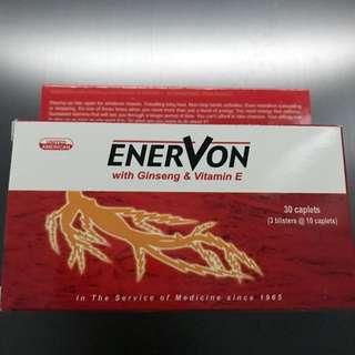 Enervon C with Ginseng & Vitamin E
