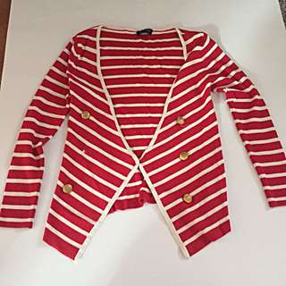 Escada sailor cardigan