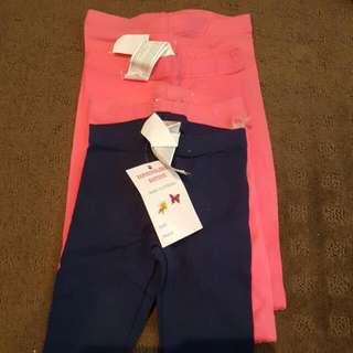 Baby Girl Tights Size 3-6 Mnths And 9-12 Mnths