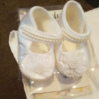Baby Shoes 5-8 Mths
