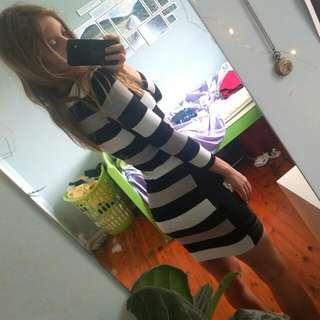 Designer bodycon dress