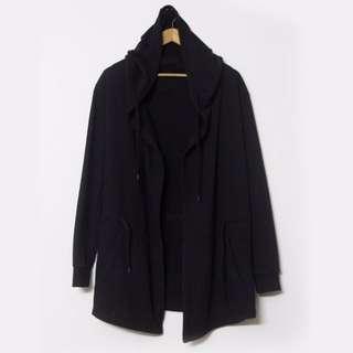 暗黑 男裝 開衫 中長款 大衣 披風 斗篷 連帽外套 REMIX OVERKILL APE NEIGHBORHOOD