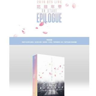 [PREORDER] BTS 2016 LIVE ON STAGE EPILOGUE DVD