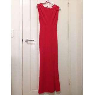 Formal Coral Dress