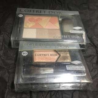 <彩妝福袋套裝系列> Coffret D'or Blush Contour And Eye Shadow Set