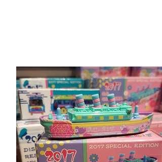1月日本代購迪士尼海洋2017限定Tomica海洋船