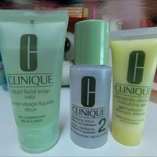 [BN] Clinique 3 Step Introductory Set-Skin Type 2