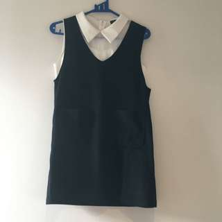 Pinafore  w Crop