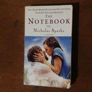 Nicholas Sparks The Notebook Novel