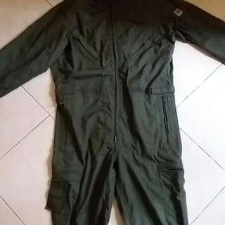 1986 TOPGUN JUMPSUIT WITHOUT PATCHES(UNISEX)