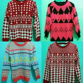 Sweater Rajut 100rb/3pcs
