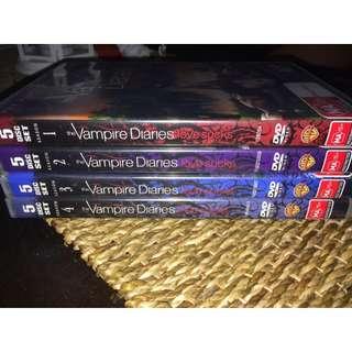 VAMPIRE DIARIES  season 1-4