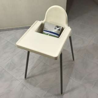IKEA Highchair (Free Supporting Cushion)