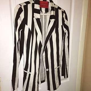 Striped Blazer SIZE SMALL