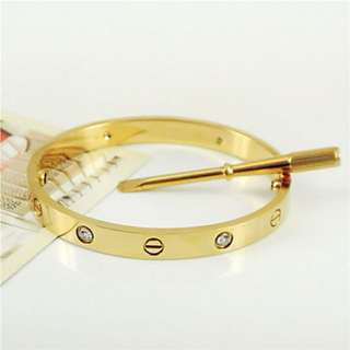 Screw bracelet