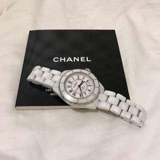 CHANEL J12白色手錶