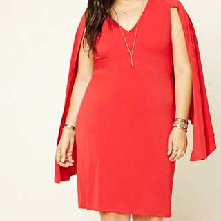 Brand New With Tags Size 1x Red Dress