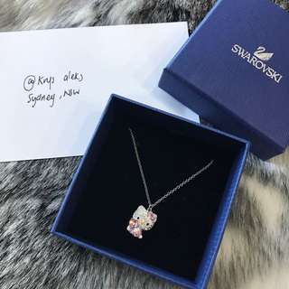Hello Kitty Swarovski Necklace