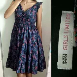 M&S printed Dress
