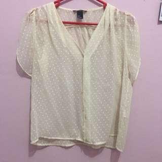 HnM Transparan Shirt