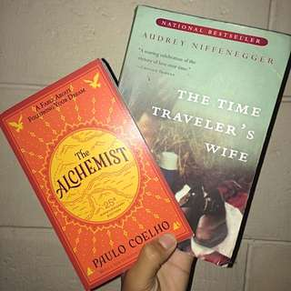 The Alchemist by Paulo Coelho (BRAND NEW) with FREE The Time Traveler's Wife