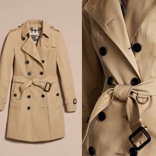 burberry經典中長版風衣外套