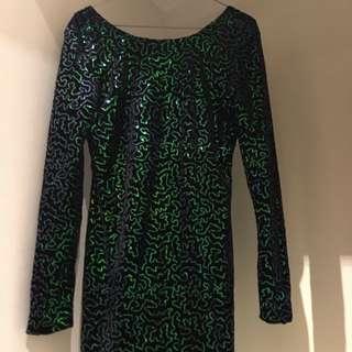 Motel Rocks Sequin Dress