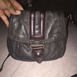 Vintage Tignanello Leather Crossbody bag