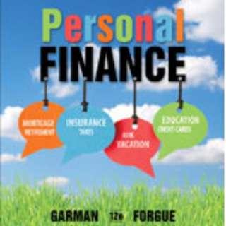 Personal Finance - Garman, Forgue - 12th Edition