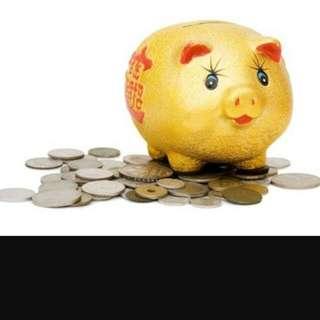 CNY XL Golden Lucky Pig