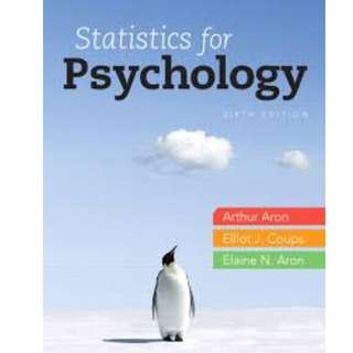PL2131 statistics for nus psychology, e-book pdf version, 6th edition.