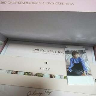 Instock- SNSD GIRLS GENERATION SEASONS GREETINGS 2017