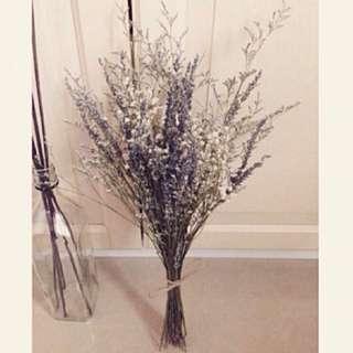天然薰衣草繽紛乾燥花束