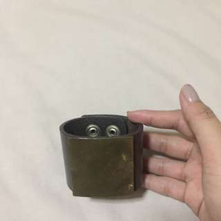 Authentic Leather Arm Cuff