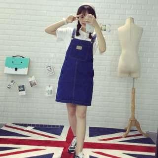 韓國🇰🇷吊帶裙