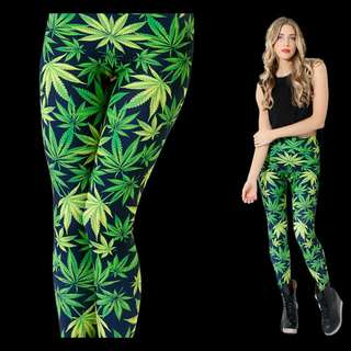 BLACK MILK CLOTHING WOAH DUDE 2.0 HWMF LEGGINGS SIZE SMALL New With Tags