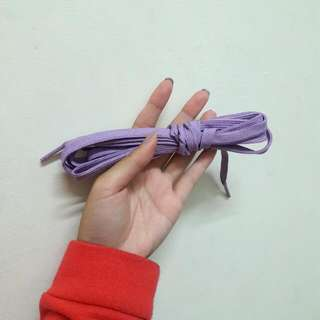 Pony薰衣草紫鞋帶