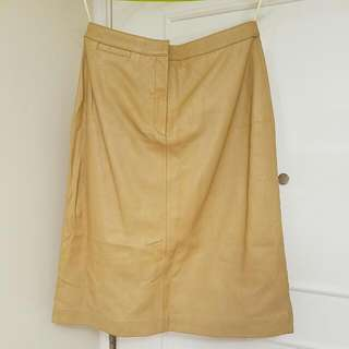 Women's Lamb Leather Skirt (Voyage de Rita)