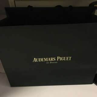 Watch Carrier Paper Bag AP Audemars Piguet 2017