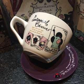 7-11深情馬戲團咖啡杯-黑桃撲克